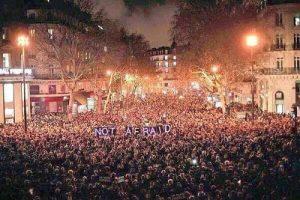 Paris not afraid