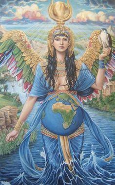 A Energia da Deusa é fundamental para a Libertação do nosso planeta