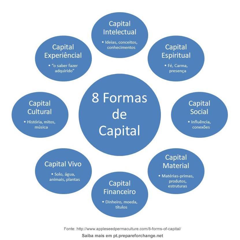redefinição financeira oito formas de capital uma nova forma de olhar para a economia