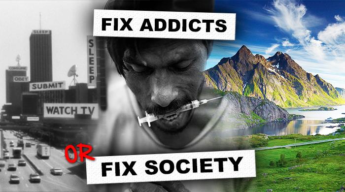 As Drogas não Causam Dependência isto vai mudar a sua visão das drogas e da toxicodependência PARA SEMPRE