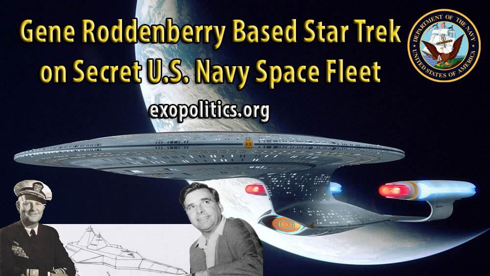 Gene Roddenberry criou o Star Trek inspirado na Frota Espacial Secreta da Marinha dos EUA3