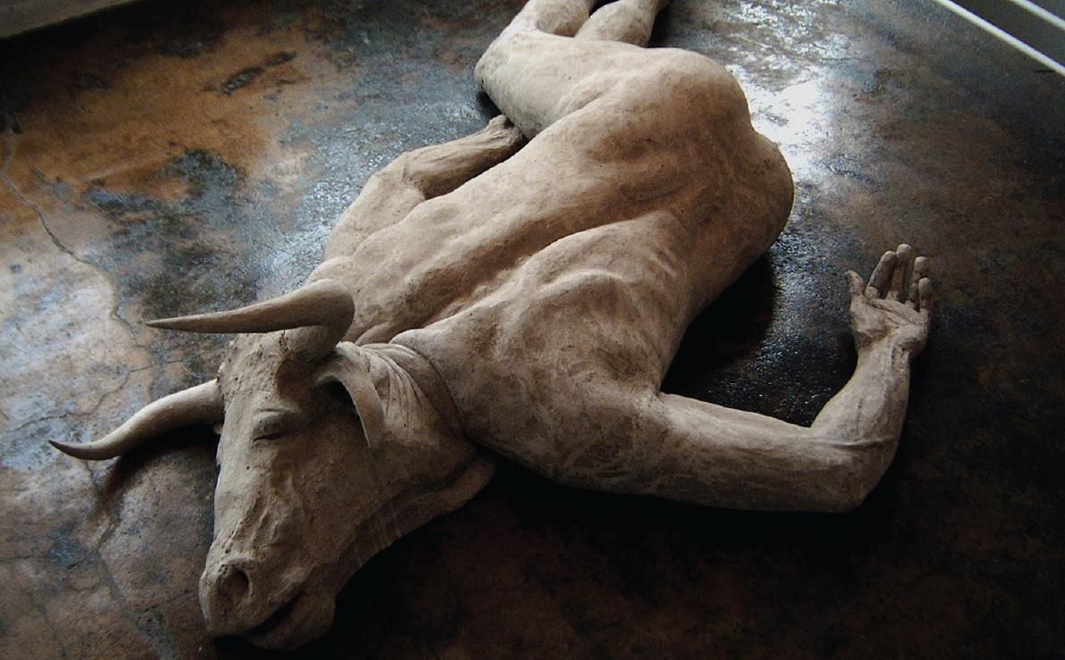 minotaur_sculpture