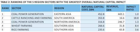 Nenhuma das principais indústrias do mundo seria lucrativa se pagasse pelo Capital Natural que usa