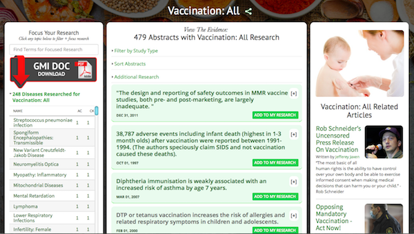 Vaccination Research Dashboard