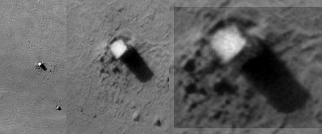O encobrimento massivo das civilizações alienígenas em Marte