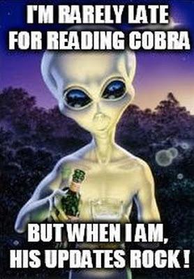 actualizações do Cobra