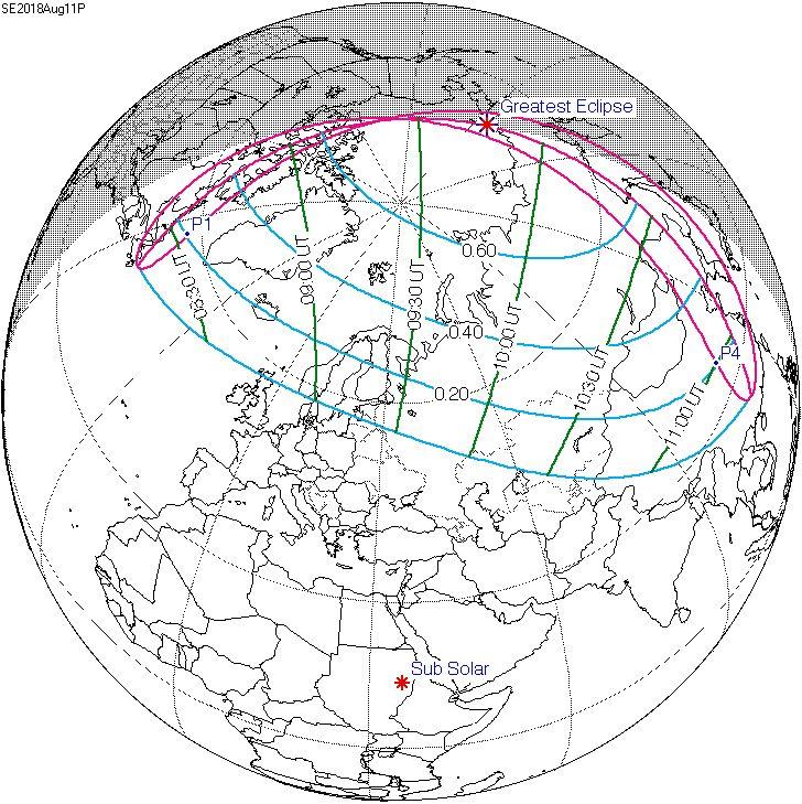 Meditação da Chave da Liberdade no Eclipse de 11 de Agosto de 2018