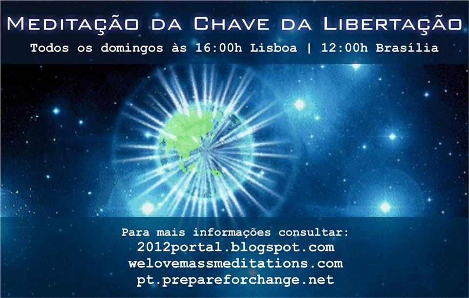 meditação da chave da libertação transição planetária preparem-se para a mudança