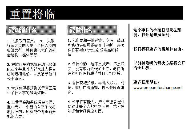 reinicialização iminente projecto viral para o evento chinês simplificado