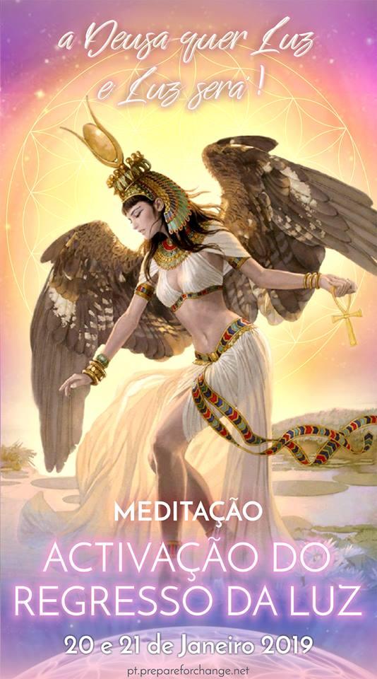 meditação da activação do retorno da Luz